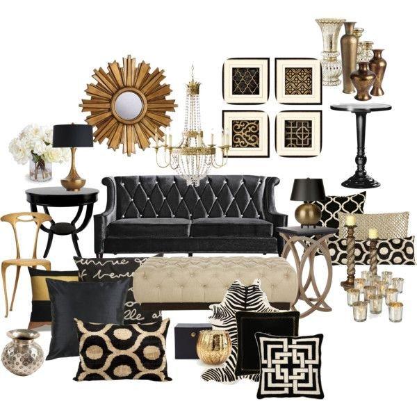 Black and Gold Home Decor Luxury 22 Modern Living Room Design Ideas улько