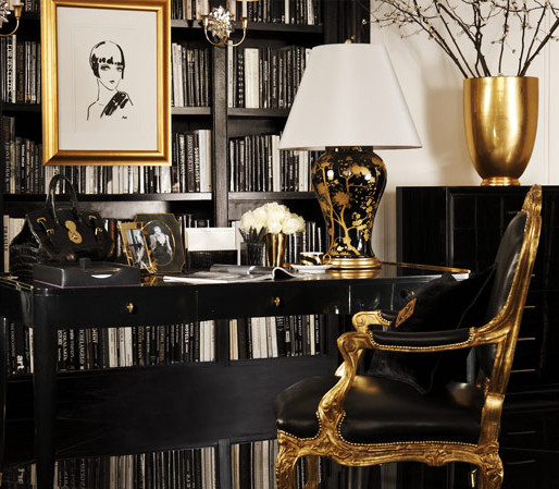 Black and Gold Home Decor New Interior and Art Files Black and Gold Decor