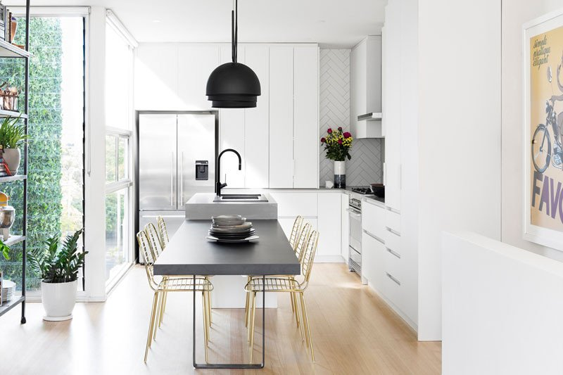 Black and Gold Kitchen Decor Fresh This Modern Kitchen Update Received touches Black and Gold Decor10 Blog