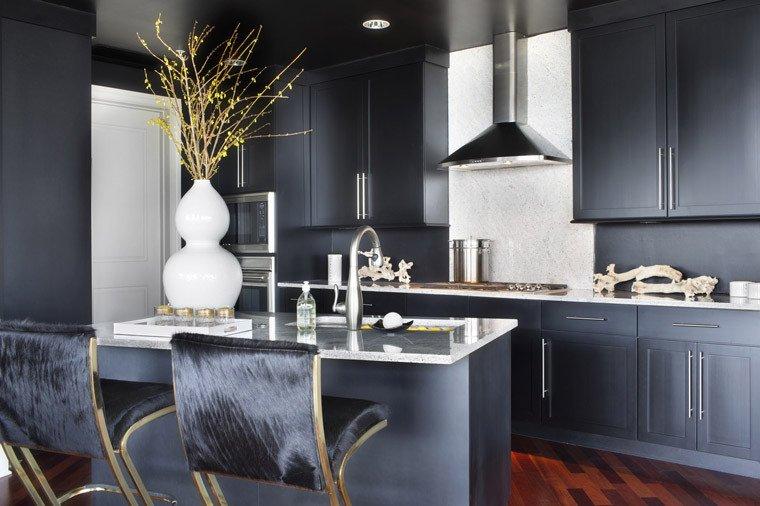 Black and Gold Kitchen Decor Inspirational Black & White Naturalized Erika Brechtel