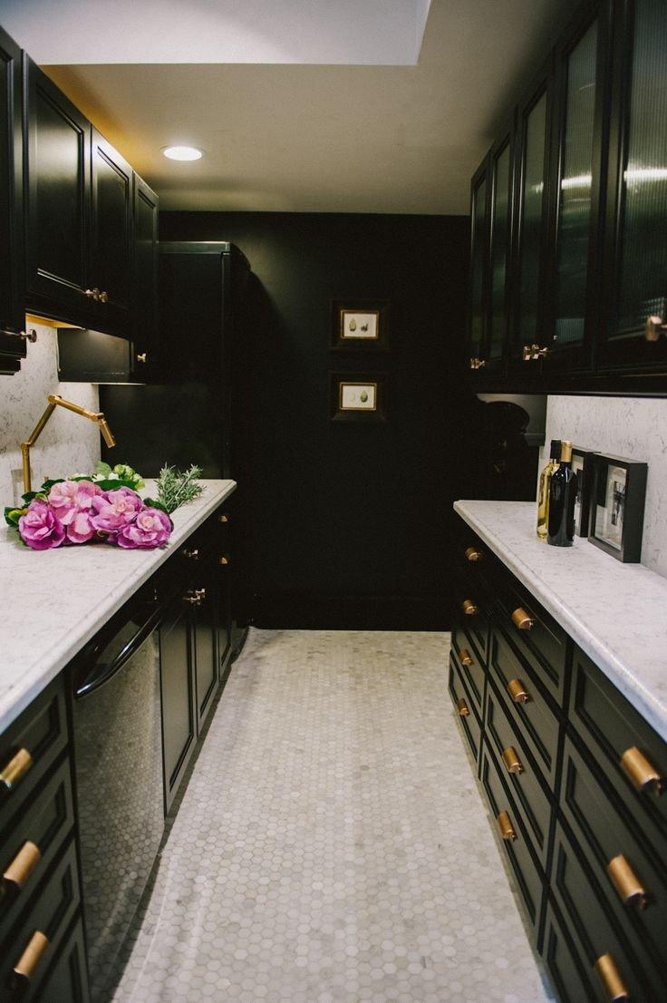 Black and Gold Kitchen Decor Lovely Gold Hardware