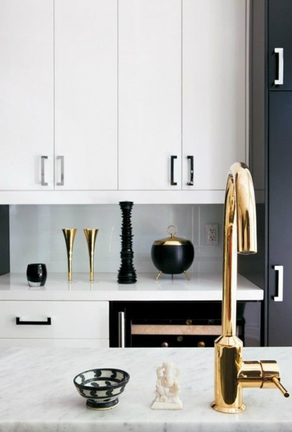 Black and Gold Kitchen Decor Luxury How to Decorate with Black and Gold