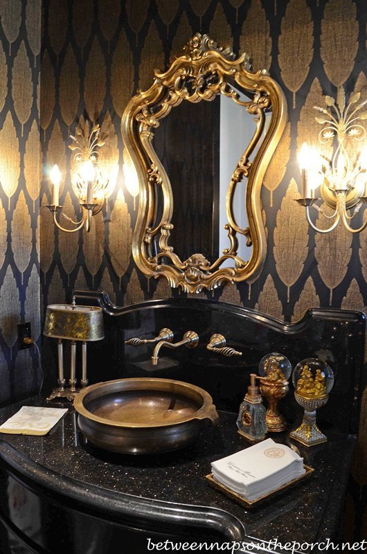 Black and Gold Room Decor Beautiful Governor Roy and Marie Barnes Home Decorated for Christmas