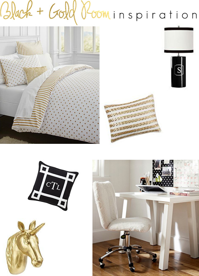Black and Gold Room Decor Beautiful the southern Thing Black and Gold Room Inspiration