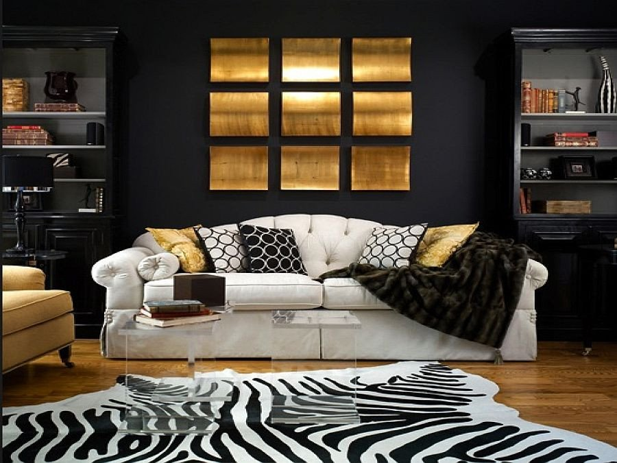 Black and Gold Room Decor Luxury 15 Refined Decorating Ideas In Glittering Black and Gold