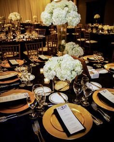 Black and Gold Wedding Decor Inspirational 1000 Images About Decorations On Pinterest