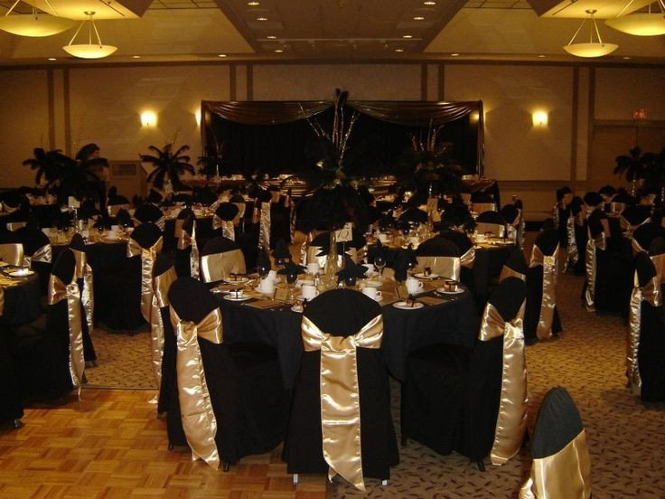 Black and Gold Wedding Decor Lovely Black & Gold Wedding theme Google Search Quinceneara