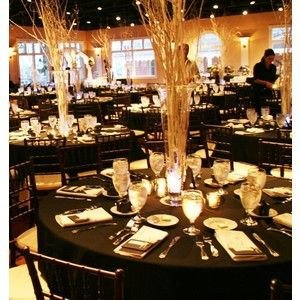 Black and Gold Wedding Decor Luxury Gold Wedding theme Gold Weddings and White Centerpiece On Pinterest