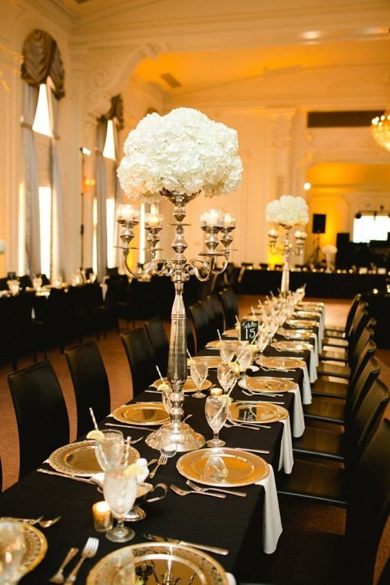 Black and Gold Wedding Decor New Best 25 Black and Gold Centerpieces Ideas On Pinterest