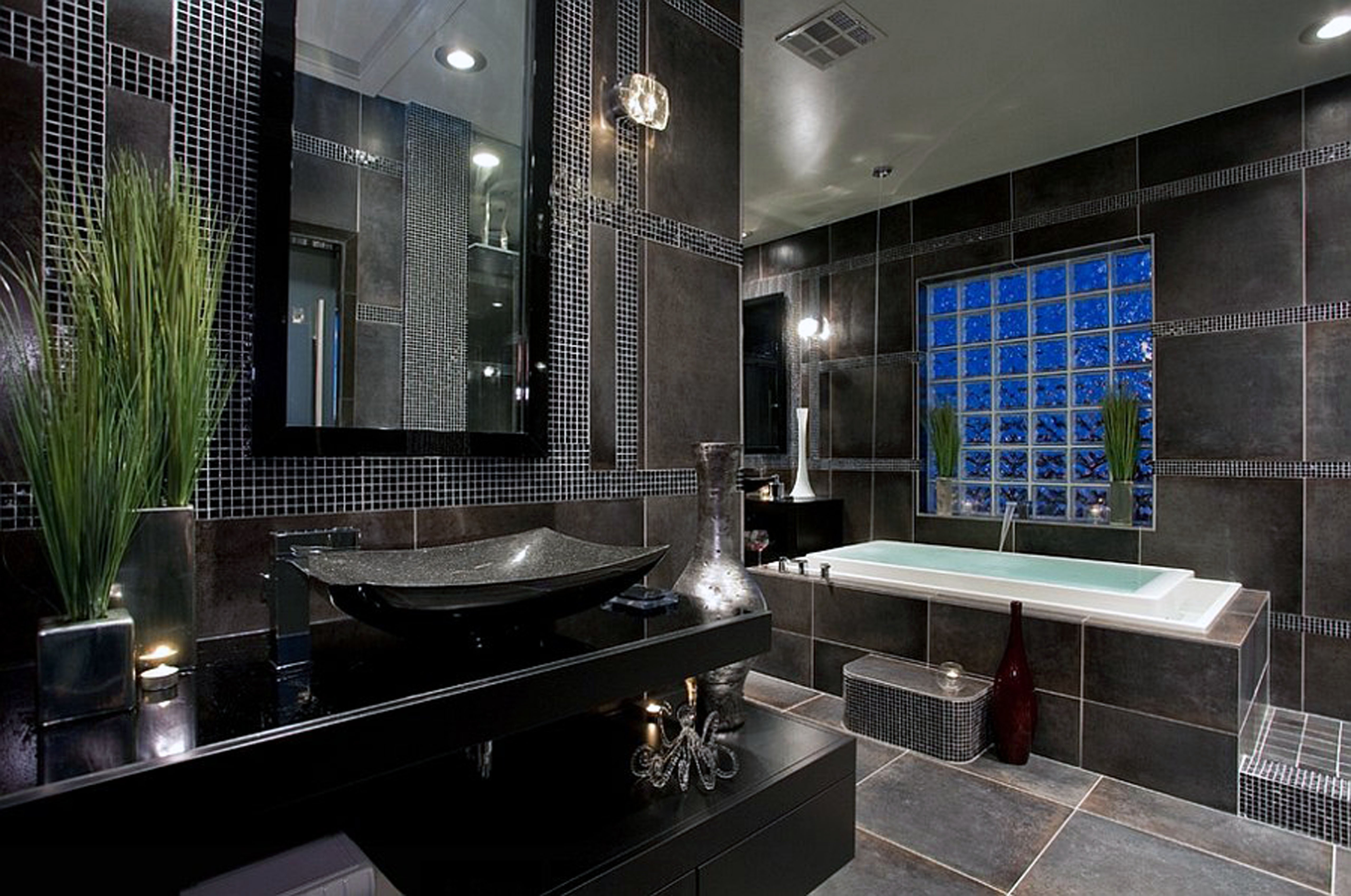Black and Gray Bathroom Decor Awesome 30 Amazing Ideas and Pictures Of Antique Bathroom Tiles