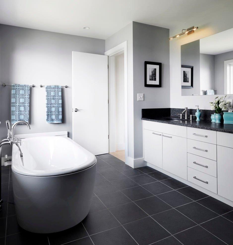 Black and Gray Bathroom Decor Fresh 22 Stylish Grey Bathroom Designs Decorating Ideas