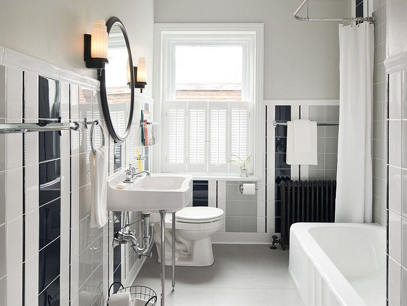 Black and Grey Bathroom Decor Lovely Black and White Bathrooms Design Ideas Decor and Accessories