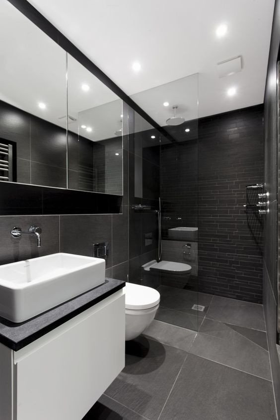 Black and Grey Bathroom Decor New 100 Fabulous Black White Gray Bathroom Design with Pictures