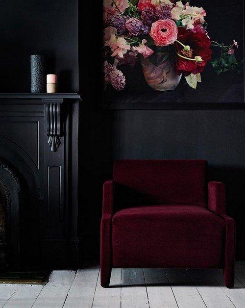 Black and Red Home Decor Fresh 2016 Velvet Trend In Interior Design – 24 Photos