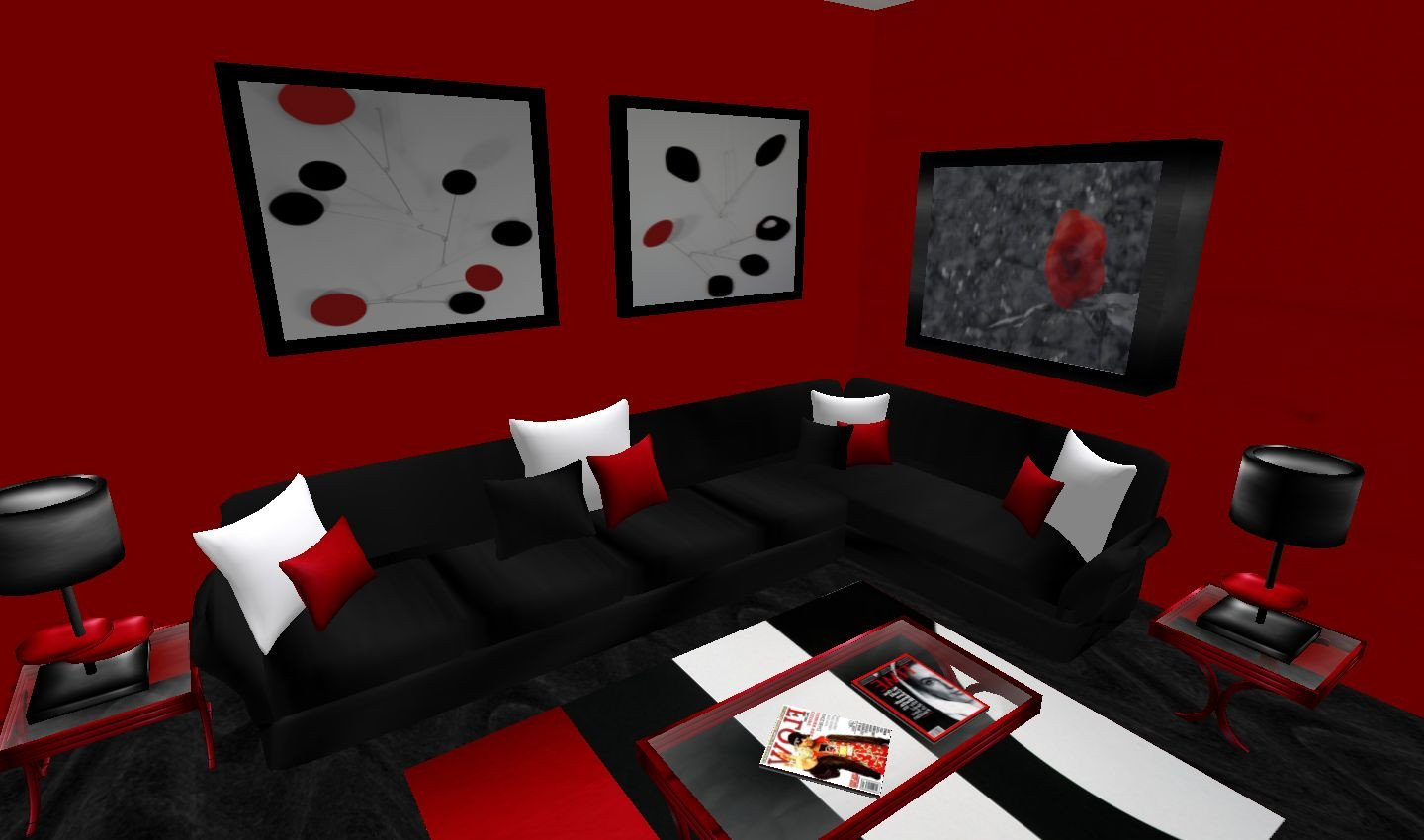 Black and Red Home Decor Lovely 16 Red and Black Living Room Red and Black Living Room Ideas Modern House Cbrnresourcenetwork