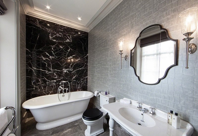 Black and Silver Bathroom Decor Fresh Black and White Bathrooms Design Ideas Decor and Accessories