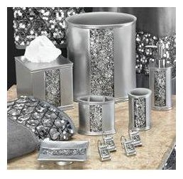 Black and Silver Bathroom Decor Inspirational 25 Best Ideas About Bling Bathroom On Pinterest