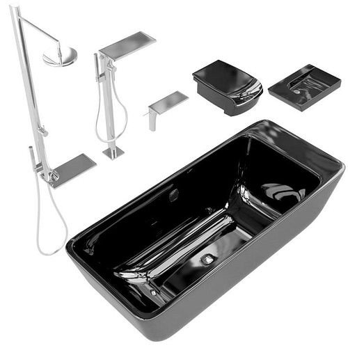 Black and Silver Bathroom Decor Unique 3d Black and Silver Bathroom Accessories