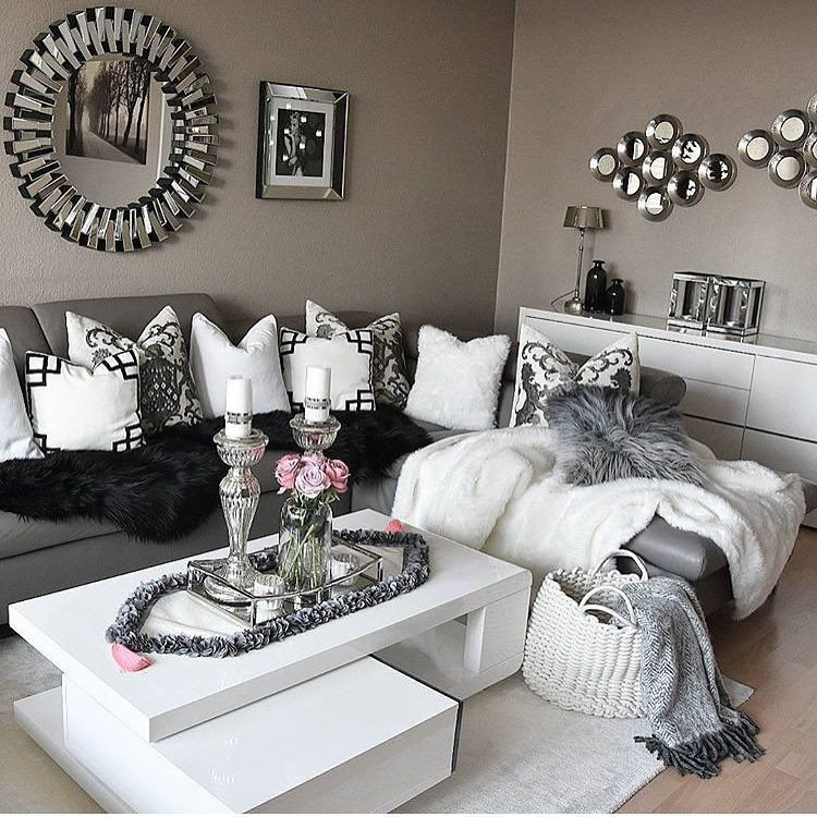 Black and Silver Home Decor Awesome I Think I Ve Pinned This before Must Be A Sign Interior Pretties