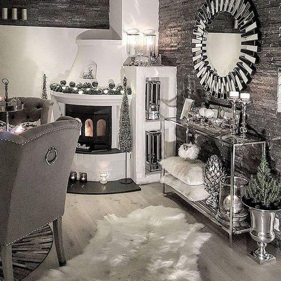 Black and Silver Home Decor Elegant Best 25 Silver Living Room Ideas On Pinterest