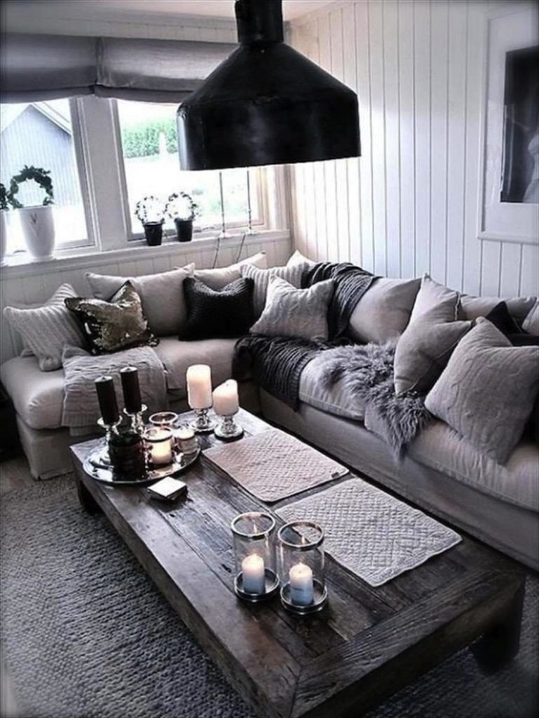29 Beautiful Black and Silver Living Room Ideas to Inspire Home Decor
