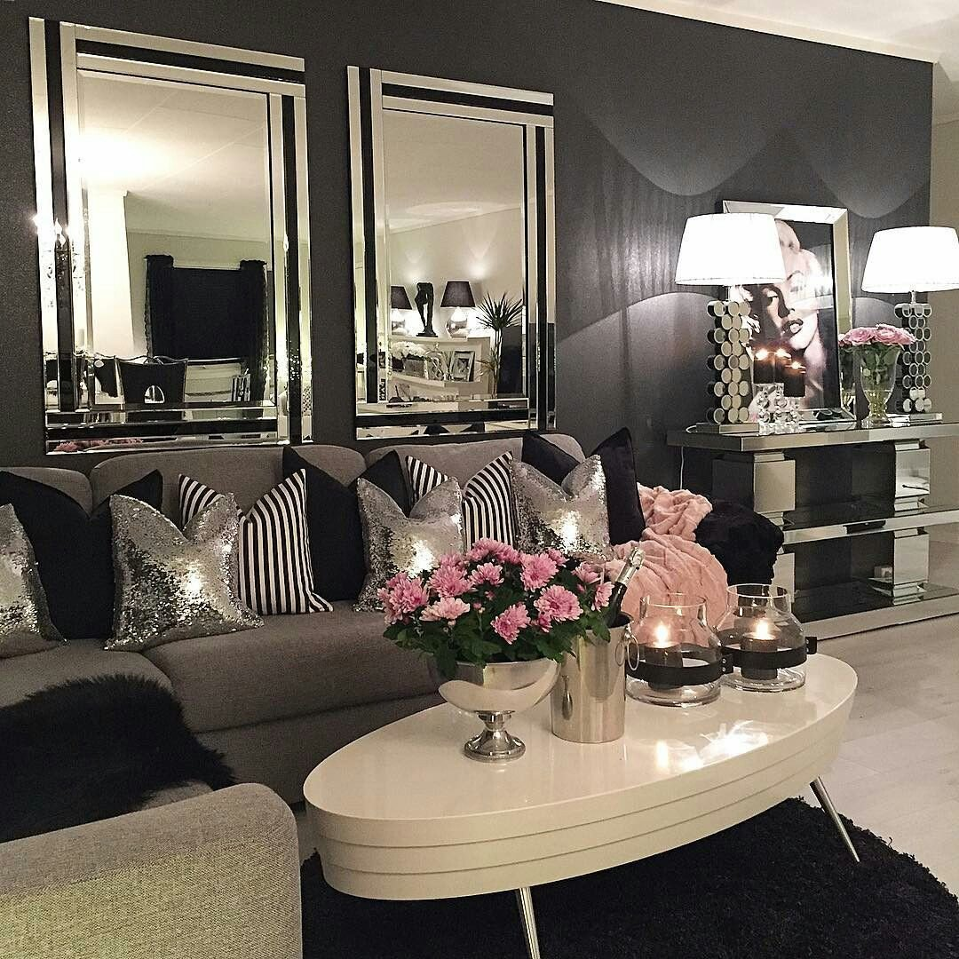 Black and Silver Home Decor Inspirational Luxurious Home Decor Ideas that Will Transform Your Living Space In A Second