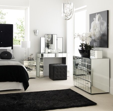 Black and Silver Home Decor Lovely Lush Fab Glam Blogazine Home Decor Go Glam with Modern and Vintage Silver Furniture