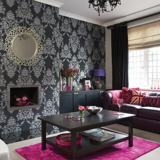 Black and Silver Home Decor Luxury Bold Black and Silver Living Room Living Room
