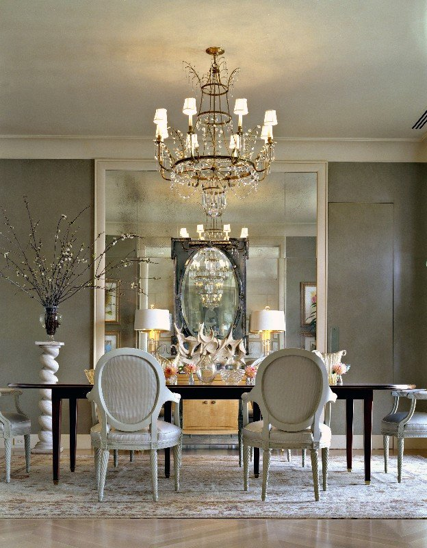 Black and Silver Home Decor Unique 25 Elegant Black and White Dining Room Designs
