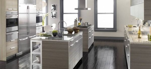 Black and Silver Kitchen Decor Awesome Silver Kitchens Ideas & Inspiration