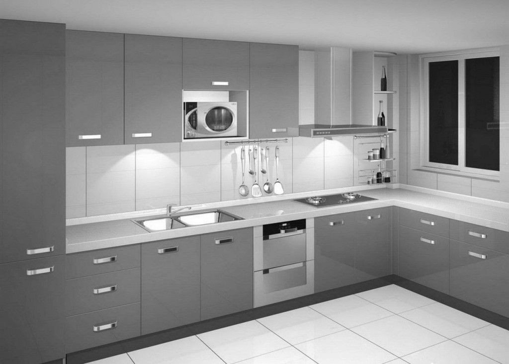 Black and Silver Kitchen Decor Best Of Minimalist Modern Silver Kitchen Cabinet Designs Cool Kitchen Design