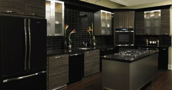 Black and Silver Kitchen Decor Elegant Black and Silver Kitchen Designs 925 500×375 Home Kitchen Design
