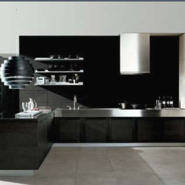Black and Silver Kitchen Decor Elegant Black and Silver Kitchen My Future Home Interior Inspirations