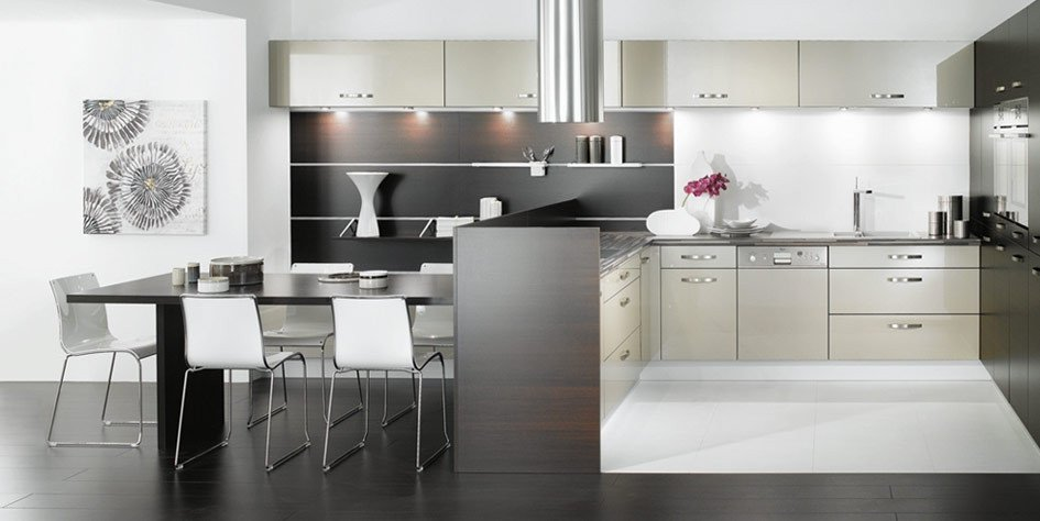 Black and Silver Kitchen Decor Inspirational Black and White Kitchen Designs From Mobalpa