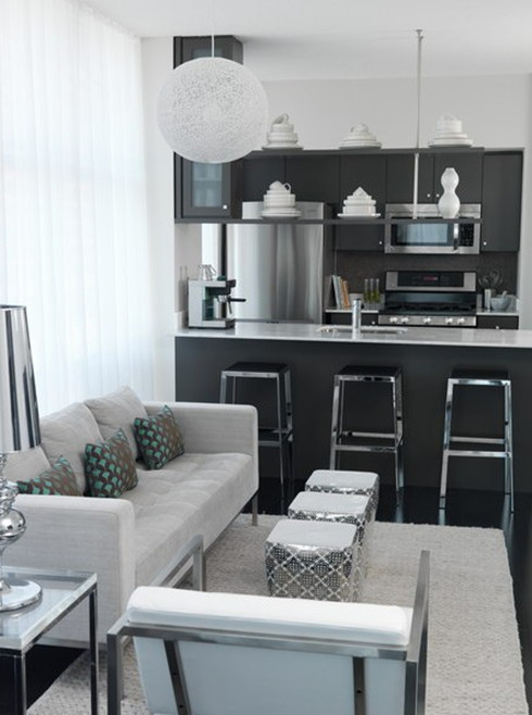Black and Silver Kitchen Decor Lovely Madebygirl Design Black & Silver Kitchen Inspiration