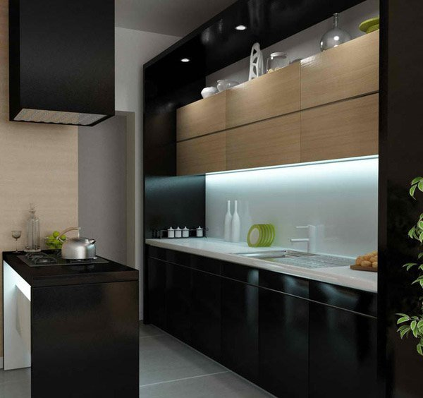 Black and Silver Kitchen Decor Luxury 15 Bold and Black Kitchen Designs