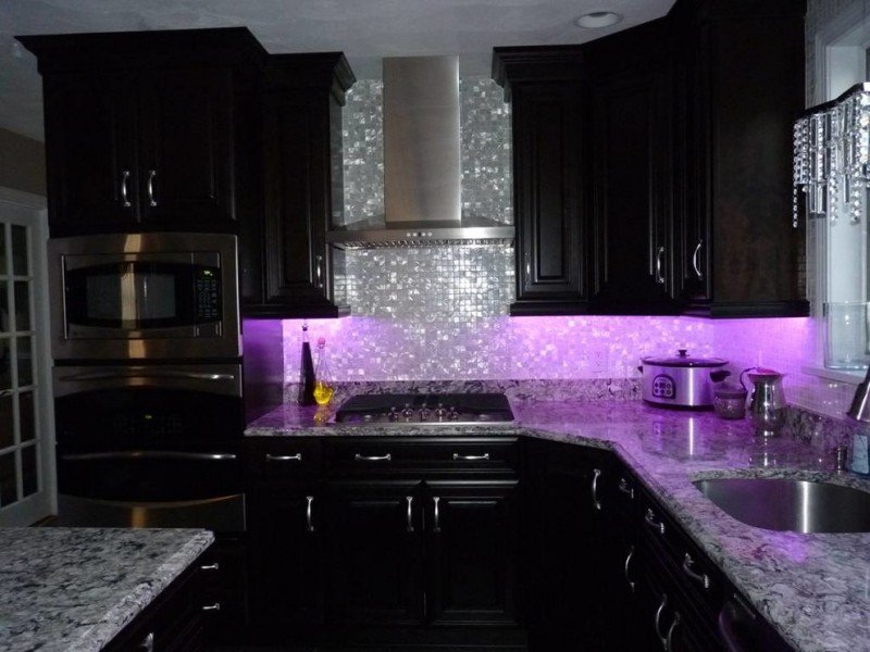 Black and Silver Kitchen Decor New 50 Inspiring Purple theme Colour for Kitchen
