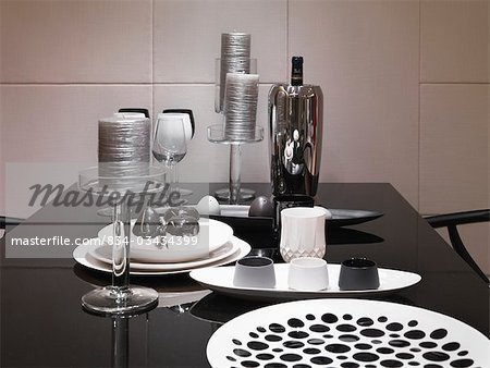 Black and Silver Table Decor Fresh Dining Table Rotating Centerpiece for Dining Table