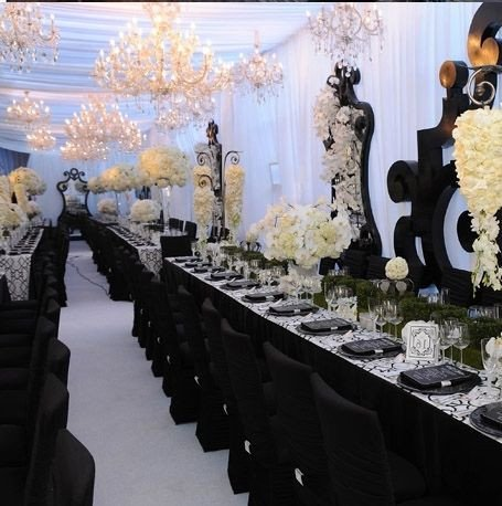 Black and Silver Table Decor Luxury Black Table Setting with Blush Pink Google Search Nov Wedding In 2019