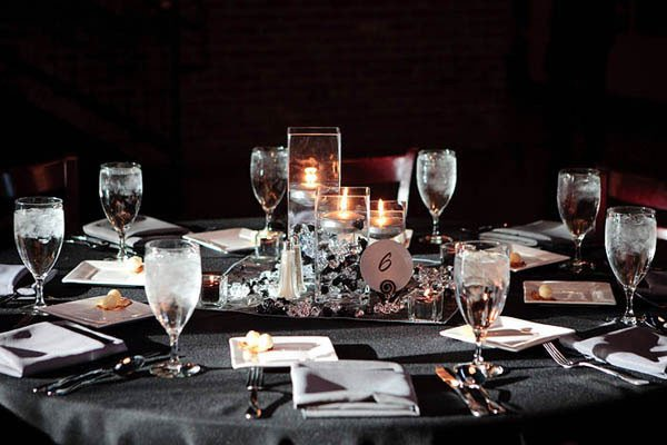 Black and Silver Table Decor Luxury Snuggle S Blog for Our Rehearsal Dinner We Hired A Vermont Caterer who Specializes In Using
