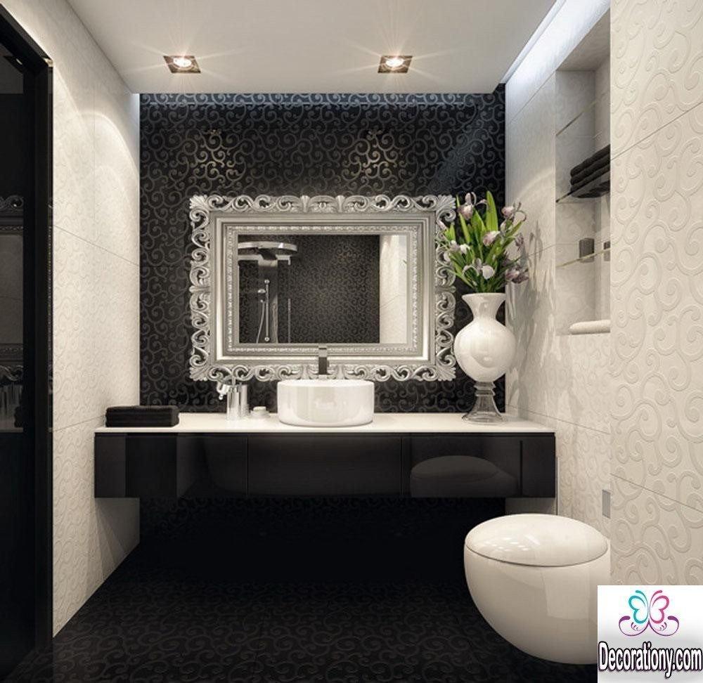 Black and White Bathroom Decor Best Of 55 Modern Bathroom Design Trends 2017