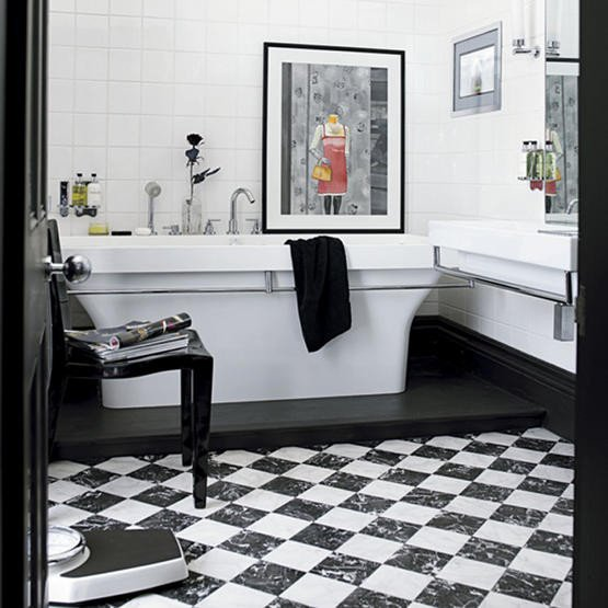 Black and White Bathroom Decor Elegant 51 Cool Black and White Bathroom Design Ideas