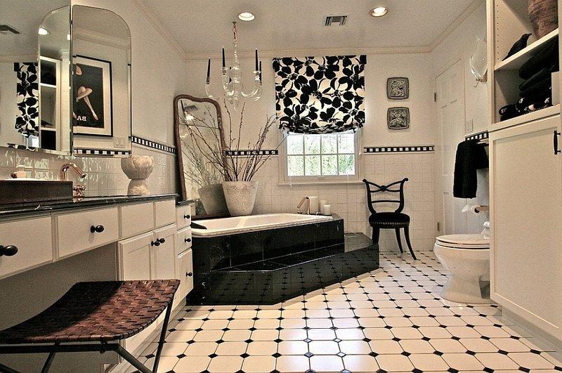 Black and White Bathroom Decor Elegant Black and White Bathrooms Design Ideas Decor and Accessories