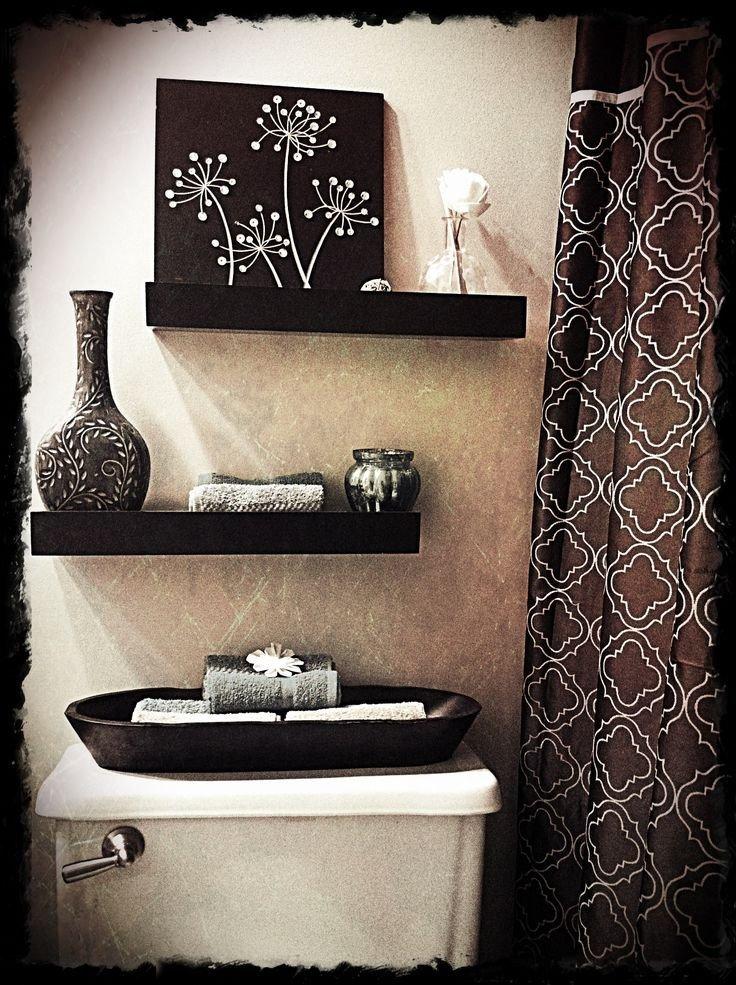 Black and White Bathroom Decor Elegant Different Ways Decorating A Bathroom