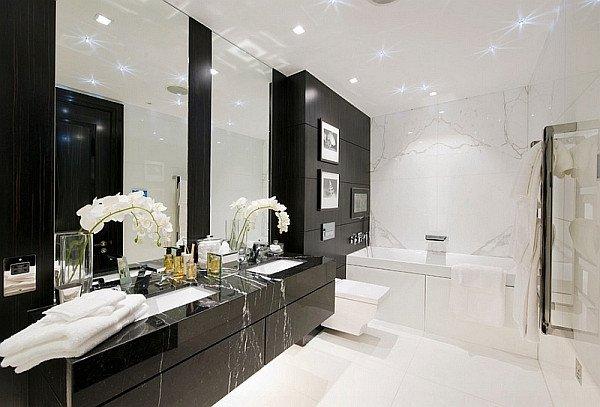 Black and White Bathroom Decor Inspirational Black and White Bathrooms Design Ideas Decor and Accessories