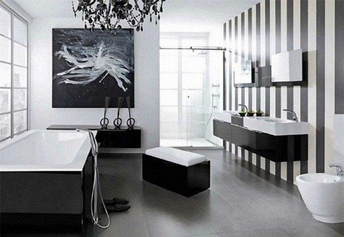 Black and White Bathroom Decor Inspirational Black Bathroom Design Ideas to Be Inspired