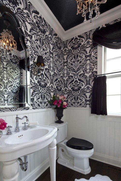 Black and White Bathroom Decor Lovely 23 Traditional Black and White Bathrooms to Inspire Digsdigs