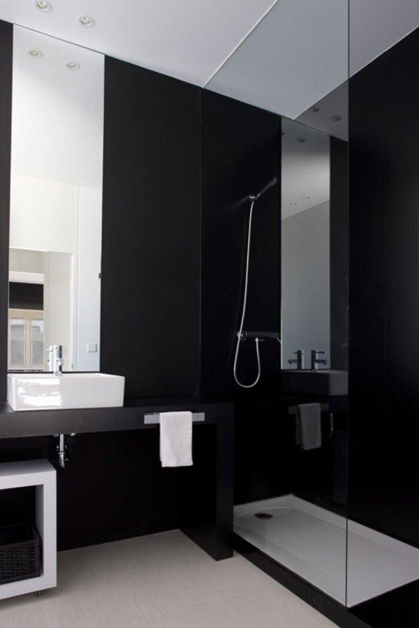 Black and White Bathroom Decor Lovely Cool Black and White Bathroom Design Ideas