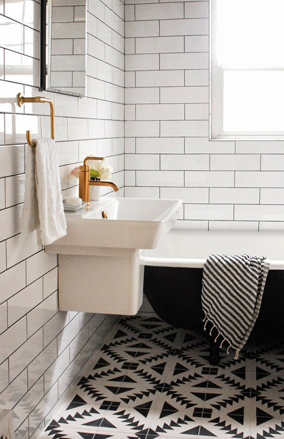 Black and White Bathroom Decor Luxury Black and White Bathrooms