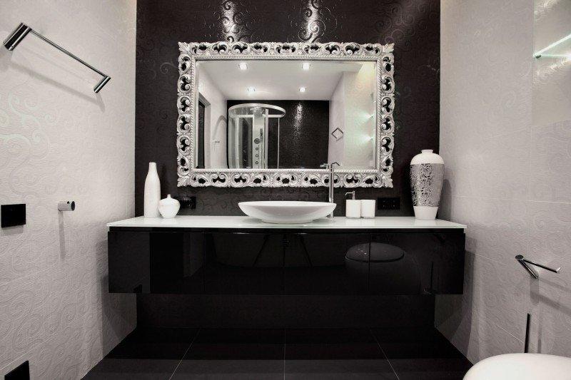 Black and White Bathroom Decor New Black and White Bathroom Decor Decoist